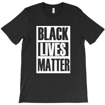 Distressed Black Lives Matter T-shirt T-shirt Designed By Hung