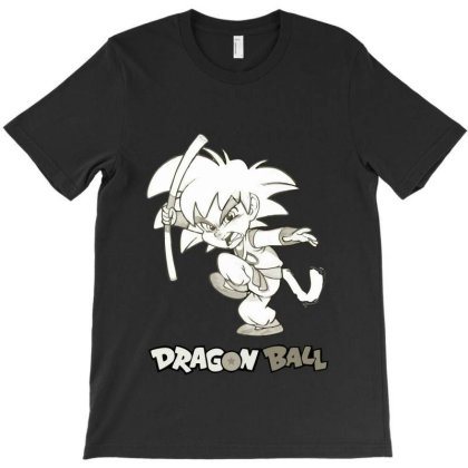 Dragon Ball Z (dbz) Goku (low Poly Abstract) Fanart (zoomout Effect) T-shirt Designed By Dc47