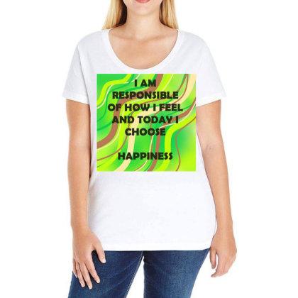 Happiness Ladies Curvy T-shirt Designed By Artango