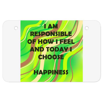 Happiness Atv License Plate Designed By Artango