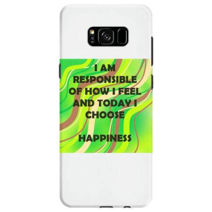 Happiness Samsung Galaxy S8 Case Designed By Artango