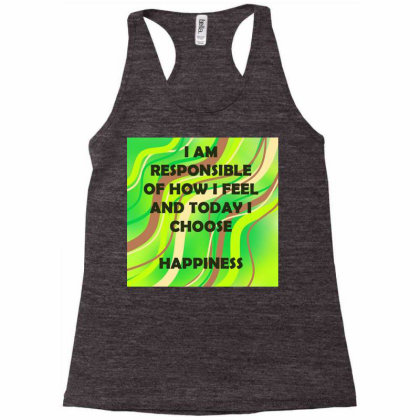 Happiness Racerback Tank Designed By Artango