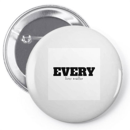 Every Lives Matter Pin-back Button Designed By Sarkar