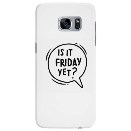 Weekend Samsung Galaxy S7 Edge Case Designed By Pixie_paper