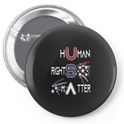 Human Rights Matter Pin-back Button Designed By Kakashop