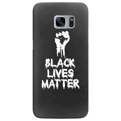Black Lives Matter   Fist For Dark Samsung Galaxy S7 Edge Case Designed By Mostwanted