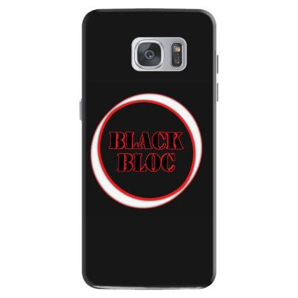 Black Bloc Design Samsung Galaxy S7 Case Designed By Dav