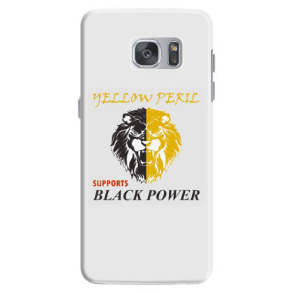 Yellow Peril Supports Black Power Samsung Galaxy S7 Case Designed By Red Story