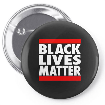 Black Lives Matter Classic For Dark Pin-back Button Designed By Colla Store