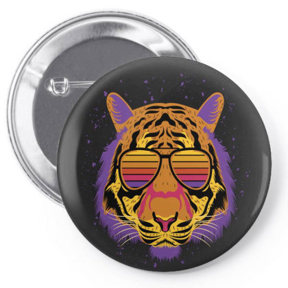 Lion Summer Beach Aloha Pin-back Button Designed By Chris299