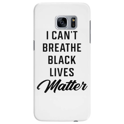 I Can't Breathe Black Lives Matter - Protest Gifts Samsung Galaxy S7 Edge Case Designed By Diogo Calheiros