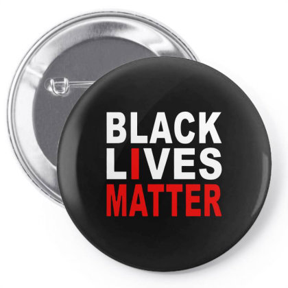 Black Lives Matter Pin-back Button Designed By Colla Store