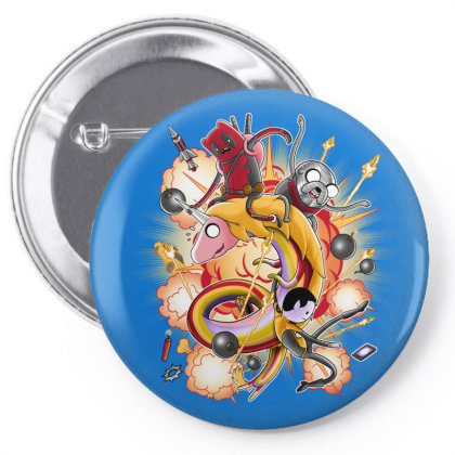 Mercenary Time Pin-back Button Designed By Saqman
