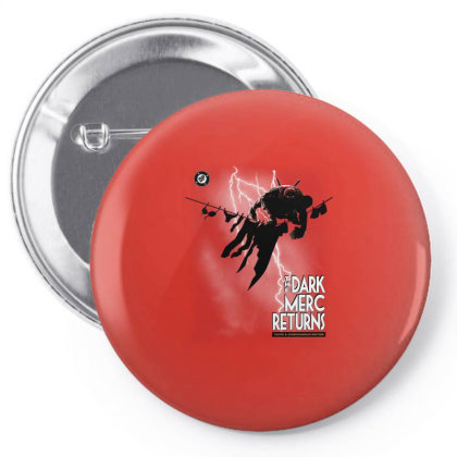 The Dark Merc Returns Pin-back Button Designed By Saqman