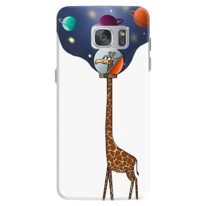 Astro Giraffe Samsung Galaxy S7 Case Designed By Cuser3624