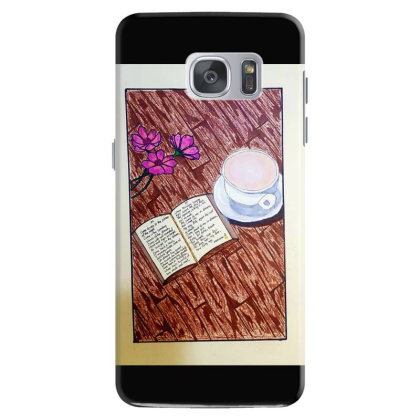 Cup Of Tea Samsung Galaxy S7 Case Designed By Mahroona's Art
