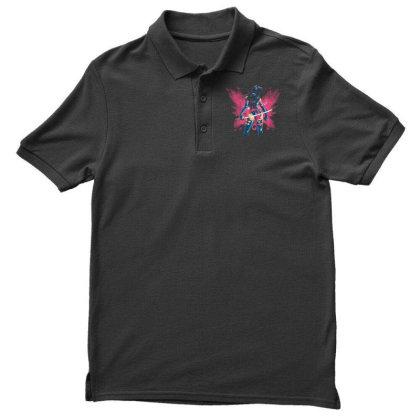 Mental Butterfly Men's Polo Shirt