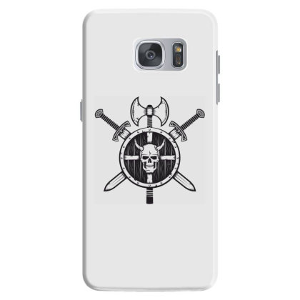 Skull Warrior Samsung Galaxy S7 Case Designed By Estore