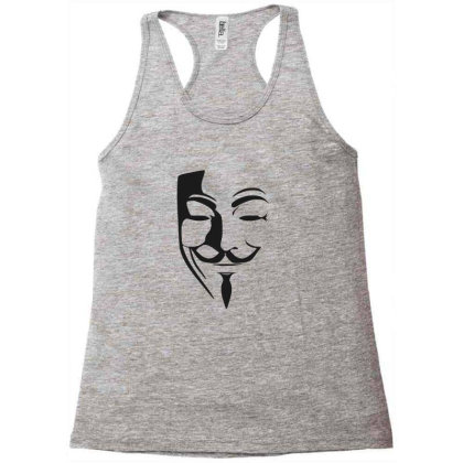 Anonymous Racerback Tank Designed By Gursheen