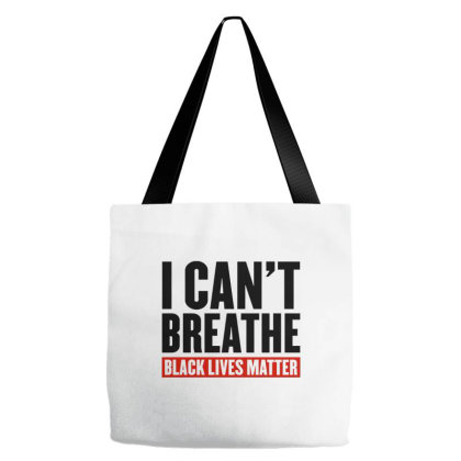 I Can't Breathe Black Lives Matter Tote Bags Designed By Kimochi