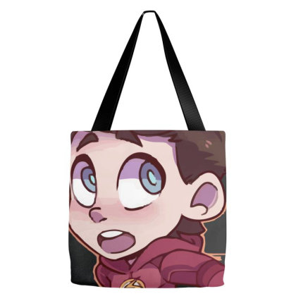 The Flash (low Poly) Zoomout Effect Tote Bags Designed By Dc47