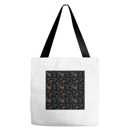 Abstract Humans Tote Bags Designed By Kushang