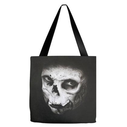 Skull Face Tote Bags Designed By Aleksandra