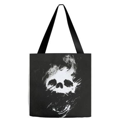 Burning Skull Tote Bags Designed By Aleksandra