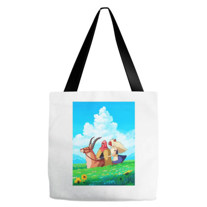 Story Of San And Ashitaka Tote Bags Designed By Alexipratama