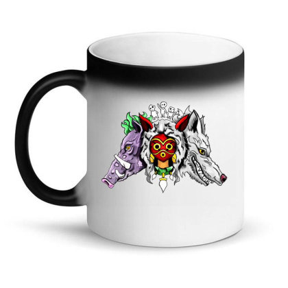Forest Protector Magic Mug Designed By Adirafairuz