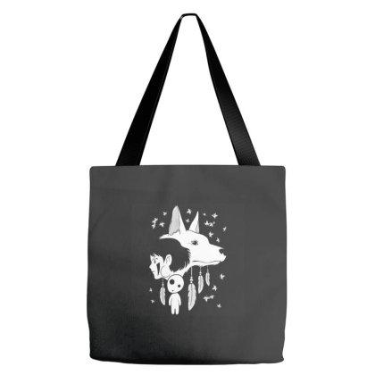 Spirited Mononoke Tote Bags Designed By Budipranoto