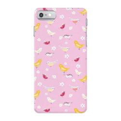 Cute bird pattern iPhone 7 Case | Artistshot