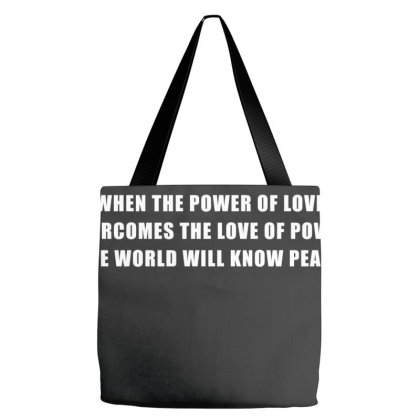The Power Of Love Tote Bags Designed By Designby21
