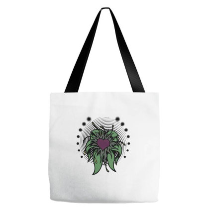 Heart Flower Vintage Classic Tote Bags Designed By Nextmoon