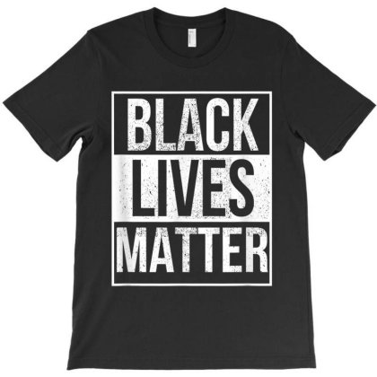 Blm T Shirt   Distressed Black Lives Matter T-shirt Designed By Amber Petty