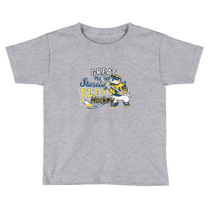 Hockey Toddler T-shirt Designed By Disgus_thing