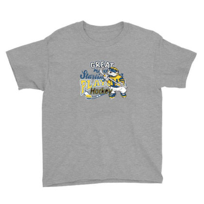 Hockey Youth Tee Designed By Disgus_thing
