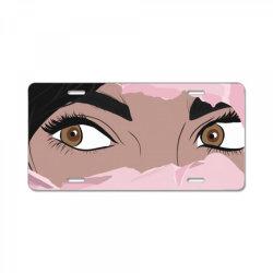 Jasmine License Plate | Artistshot