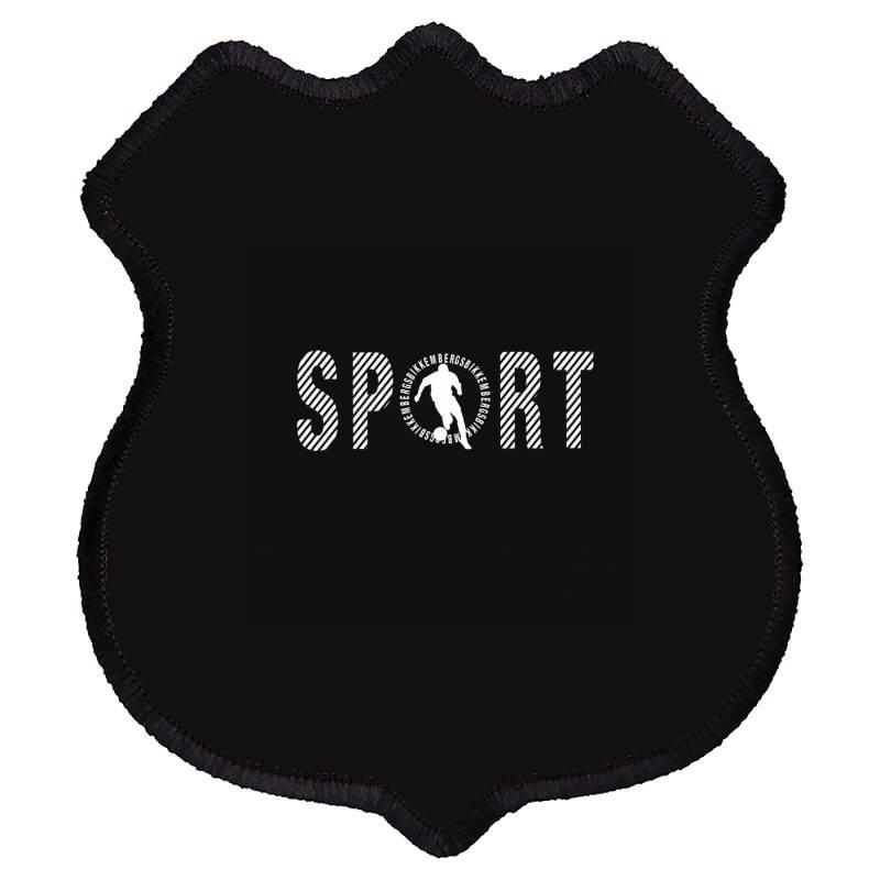 Sports Shield Patch | Artistshot
