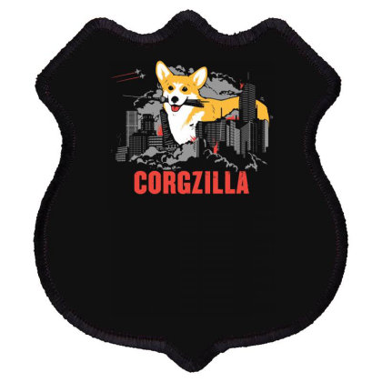 Corgzilla Shield Patch Designed By Farh4n