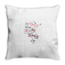 pink Throw Pillow | Artistshot