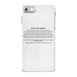 lets not forget iPhone 7 Case | Artistshot