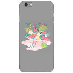 Play time flamingos iPhone 6/6s Case | Artistshot