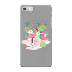 Play time flamingos iPhone 7 Case | Artistshot