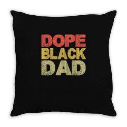 dope black dad 2020 Throw Pillow | Artistshot
