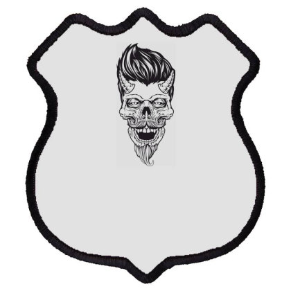 Skull Shield Patch Designed By Estore