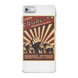 Labor, equality, working class, revolution iPhone 7 Case | Artistshot