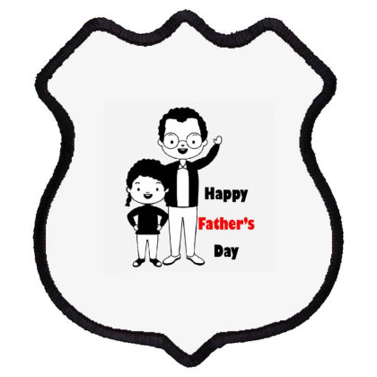Father's Day Shield Patch Designed By Maverick_3110