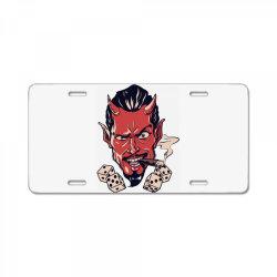 Demon, skull License Plate | Artistshot