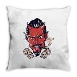 Demon, skull Throw Pillow | Artistshot